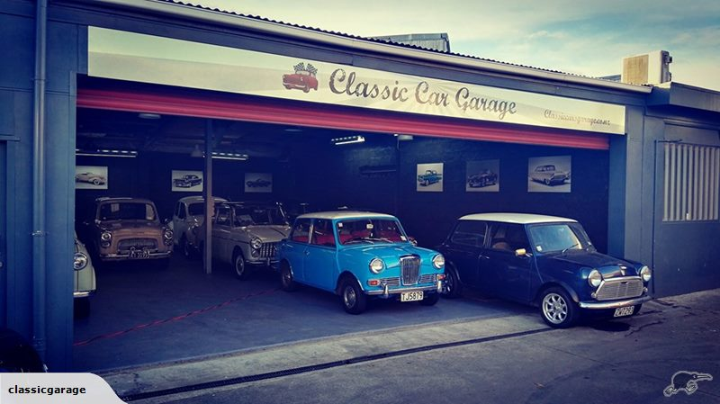 With her garage mates