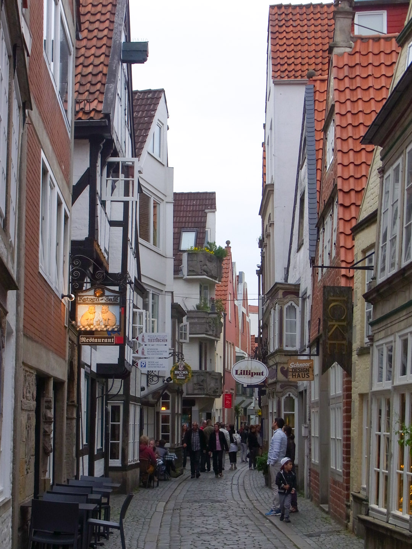 The Schnoor - the neighbourhood I stayed in