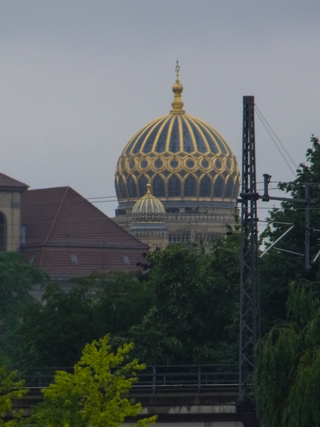 Dome of the Neue Synagoge