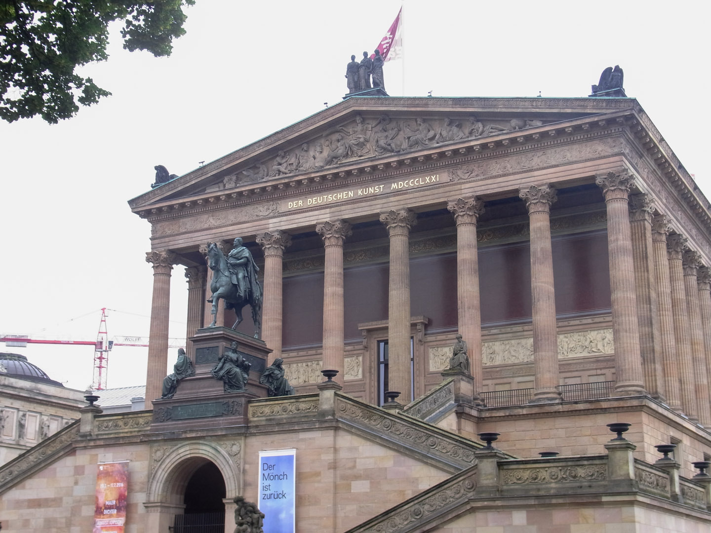 Alte Nationalgalerie (Old National Gallery) Museum Island, Berlin