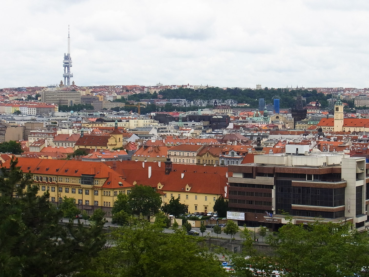 From Letná Hill
