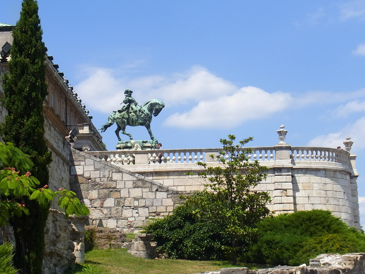Buda Castle Search Google Maps Directions Statue of Prince Eugene of Savoy