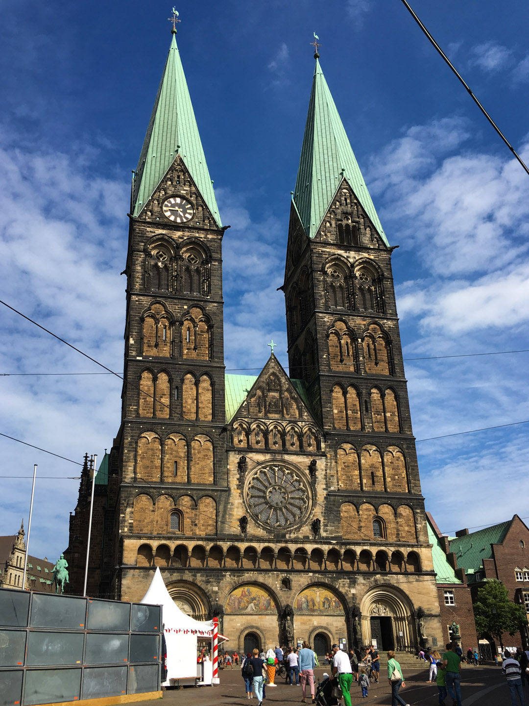 Bremen Cathedral dedicated to St Peter