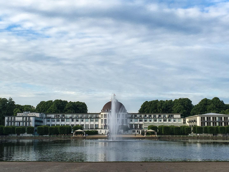 Park Hotel in the Burgerpark (Citizen's Park)
