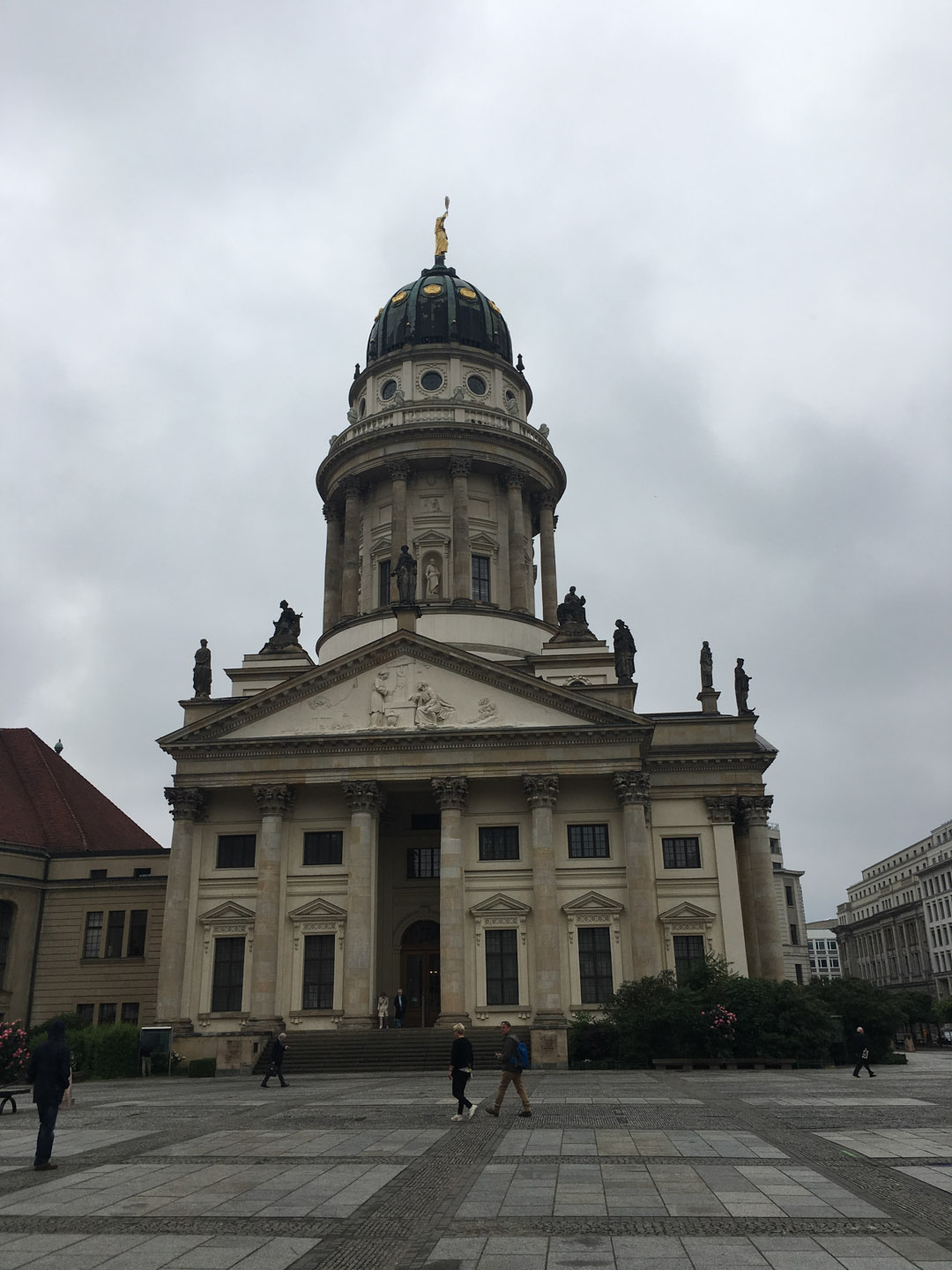 Französischer Dom (French Cathedral) 1701 to 1705 for the Huguenot (Calvinist) population