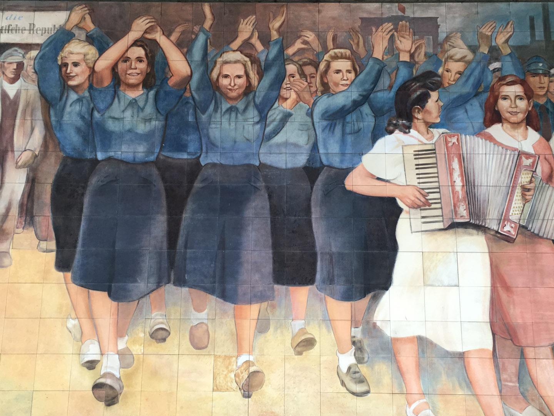 Max Lingner GDR era mural