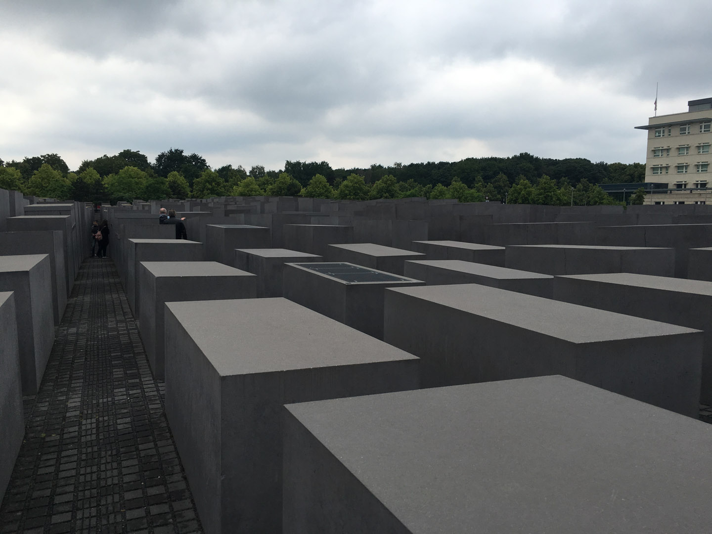 Sobering Memorial to the Murdered Jews of Europe