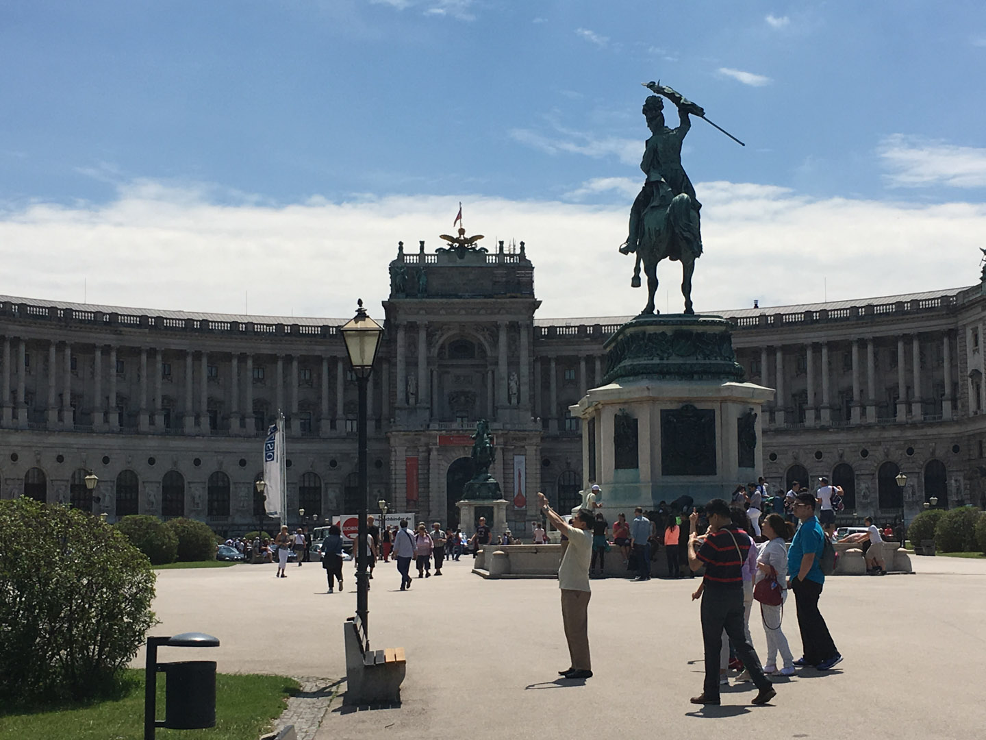 Hofburg Imperial Palace and Heroes' Square