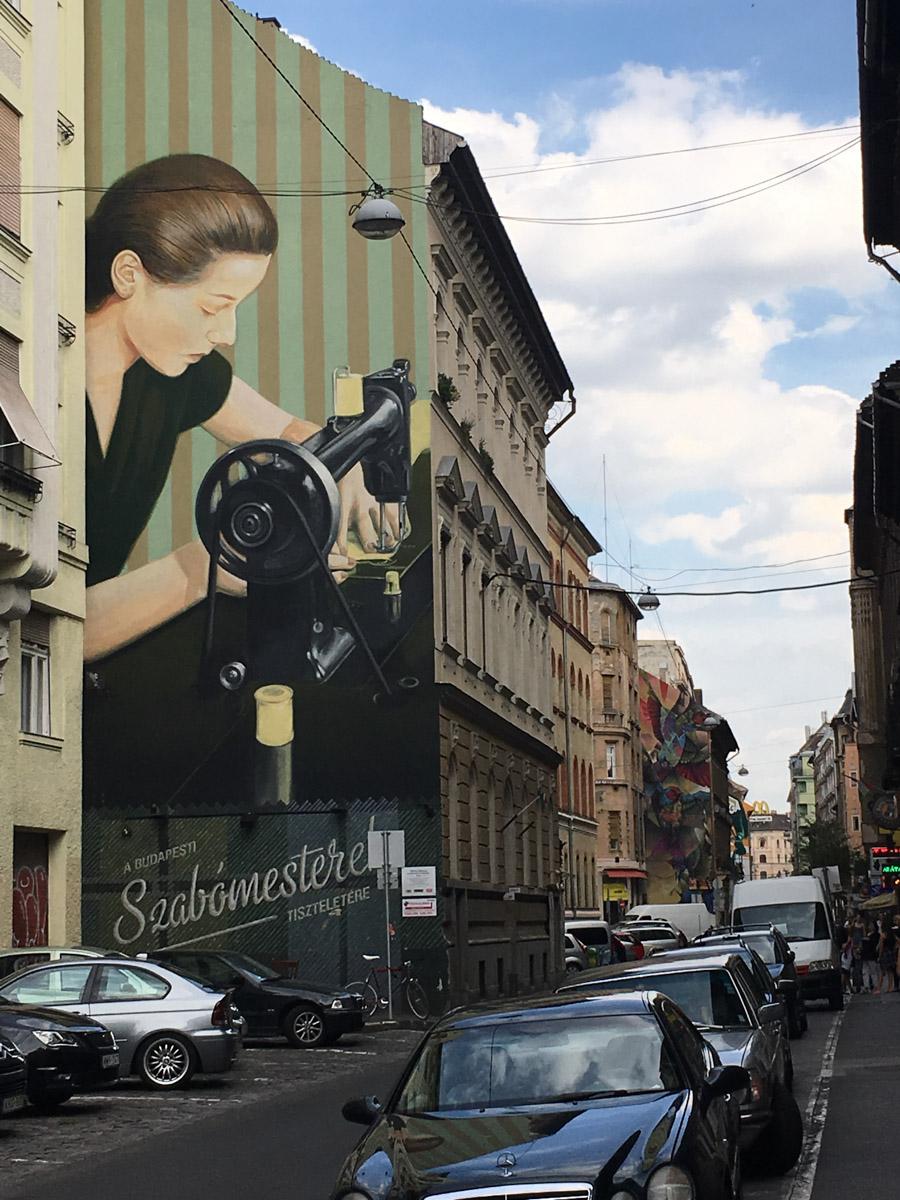 Street Mural, Dob St, I think