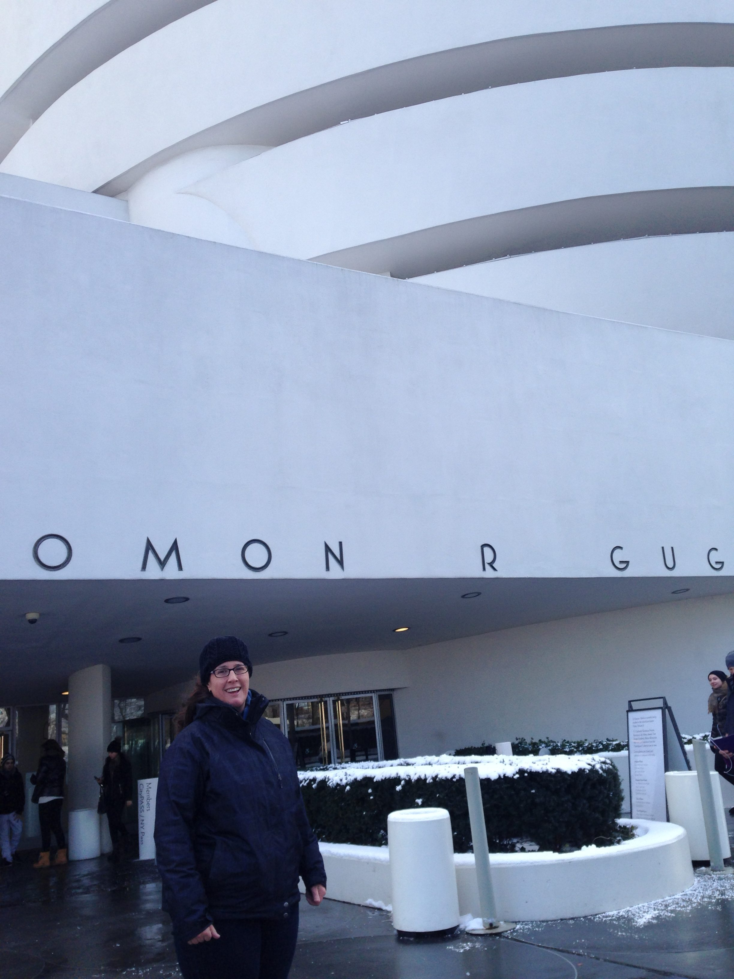 I was here... the Solomon R Guggenheim Museum